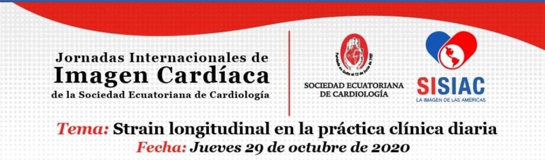 Jornadas Internacionales de Imagen Cardíaca de la Sociedad Ecuatoriana de Cardiología
